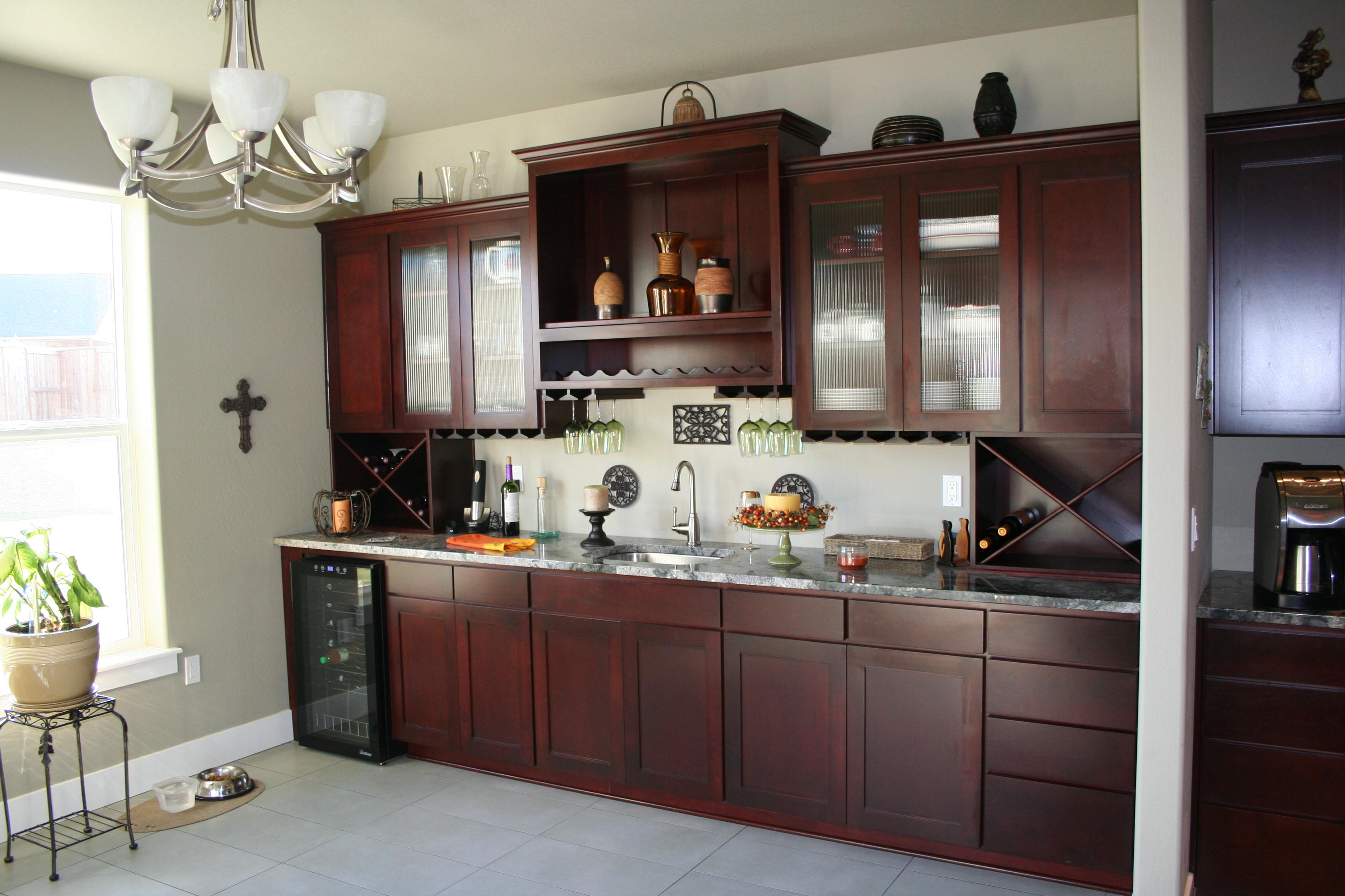 træmaling brun køkken - Kongen af maling