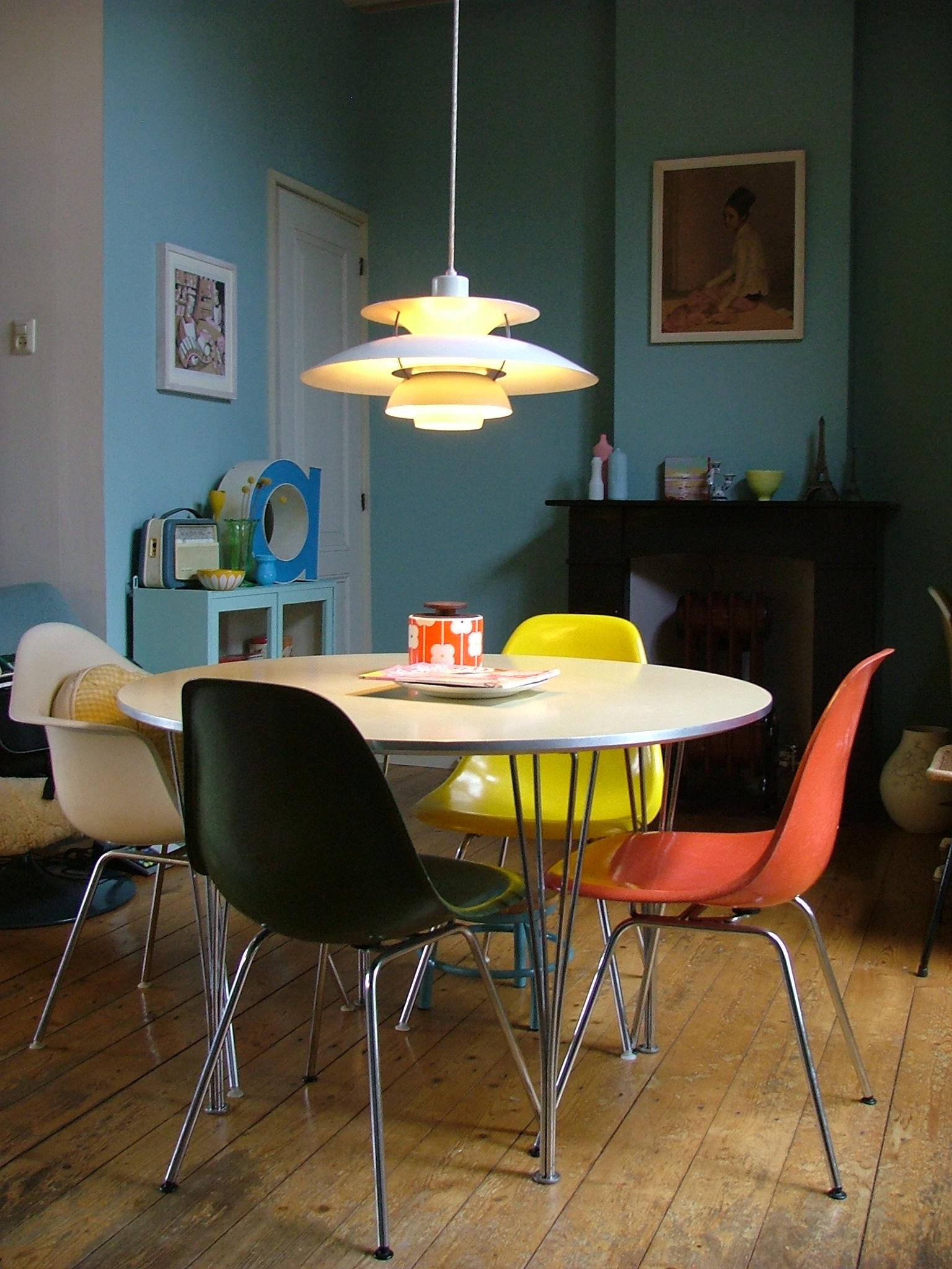 Fargekart - interiør - Fargerike