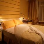 Gult afslappende look til soveværelse